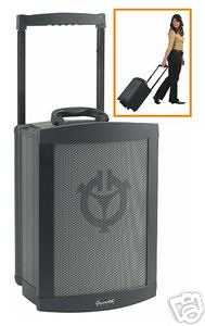 Portable battery-powered PA systems in all shapes and sizes. Chiayo Challenger