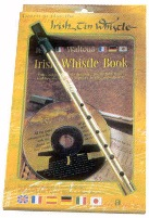 Irish Whistle in key of D with book & CD.