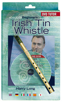 Irish Tin Whistle by Waltons complete with DVD