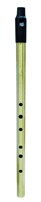 ewm1600 Low D Howard whistle - brass