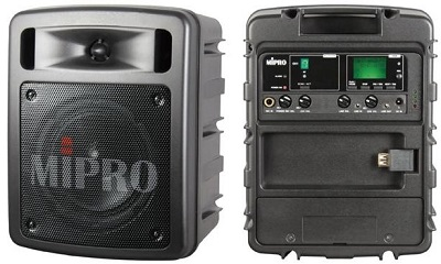 Mipro MA303 weighs under 3kg but still packs a 60watts (max) punch!