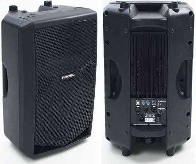 Proel Flash12 powered PA speaker