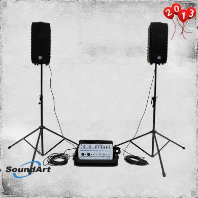 Soundart 100w packable PA system