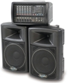400watt PA system will suit schools and churches