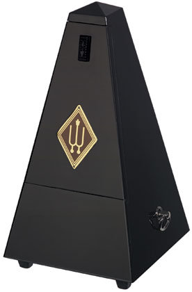 wittner plastic body traditional metronome (woodgrain finish)